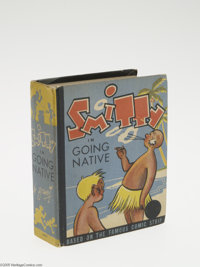 Big Little Book #1477 Smitty in Going Native (Whitman, 1938) Condition: VF. Walter Berndt art, with 300 pages. Overstree...