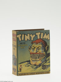 Big Little Book #1172 Tiny Tim and the Mechanical Men (Whitman, 1937) Condition: VF. Hard cover, 432 pages. Written and...