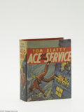 Golden Age (1938-1955):Miscellaneous, Big Little Book #1420 Tom Beatty Ace of the Service and the Big Brain Gang (Whitman, 1939) Condition: NM-. 432 pages. Overst...
