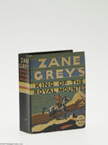Golden Age (1938-1955):Miscellaneous, Big Little Book #1103 Zane Gray's King of the Royal Mounted (Whitman, 1936) Condition: VF/NM. This is the first King of th...