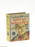 Golden Age (1938-1955):Miscellaneous, Big Little Book #1452 Zane Grey's King of the Royal Mounted Gets his Man (Whitman, 1936) Condition: NM-. Hard cover, 432 pag...