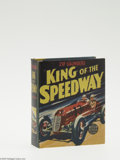 Golden Age (1938-1955):Miscellaneous, Big Little Book #1465 Zip Saunders King of the Speedway (Whitman, 1939) Condition: NM. Hard cover, 432 pages. Written by Rex...