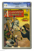 Golden Age (1938-1955):Superhero, All-American Comics #102 (DC, 1948) CGC VF- 7.5 Off-white pages. Here's the last issue of this long-running Golden Age super...