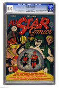 Golden Age (1938-1955):Superhero, All Star Comics #8 (DC, 1942) CGC VG/FN 5.0 Off-white to white pages. Why is this issue on Overstreet's list of the 30 most ...