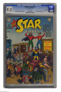 Golden Age (1938-1955):Superhero, All Star Comics #54 Diamond Run pedigree (DC, 1950) CGC NM- 9.2 White pages. The Justice Society suspects circus performers ...