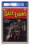 """Golden Age (1938-1955):Western, Dale Evans Comics #4 Hawkeye pedigree (DC, 1949) CGC NM 9.4 Off-white to white pages. This outing for the """"Queen of the West..."""