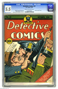 Golden Age (1938-1955):Superhero, Detective Comics #32 (DC, 1939) CGC FN- 5.5 Cream to off-white pages. Batman was one tough customer in his first few appeara...