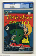 Golden Age (1938-1955):Superhero, Detective Comics #58 (DC, 1941) CGC NM 9.4 Cream to off-white pages. This is the first appearance of one of the best-known c...