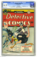 Golden Age (1938-1955):Superhero, Detective Comics #67 (DC, 1942) CGC FN+ 6.5 White pages. It's the Penguin's first cover appearance, and inside the comic the...