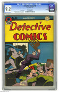 Golden Age (1938-1955):Superhero, Detective Comics #95 Twilight pedigree (DC, 1945) CGC NM- 9.2 Off-white pages. While Batman was of course the star of Dete...