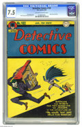 Golden Age (1938-1955):Superhero, Detective Comics #102 (DC, 1945) CGC VF- 7.5 Off-white to white pages. A Dick Sprang Joker cover is always a guarantee of cr...