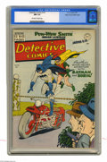 Golden Age (1938-1955):Superhero, Detective Comics #161 Mile High pedigree (DC, 1950) CGC NM 9.4 Off-white to white pages. A Win Mortimer cover graces this is...