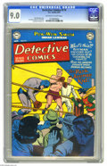 Golden Age (1938-1955):Superhero, Detective Comics #174 (DC, 1951) CGC VF/NM 9.0 Off-white to white pages. This issue's worth grabbing for the cover alone -- ...