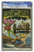 Golden Age (1938-1955):Superhero, Green Lantern #9 (DC, 1943) CGC VF 8.0 Off-white to white pages. Unlike his successor Hal Jordan, the Golden Age Green Lante...