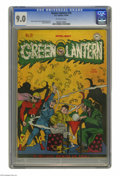 Golden Age (1938-1955):Superhero, Green Lantern #19 (DC, 1946) CGC VF/NM 9.0 Off-white pages. Doiby Dickles versus Fate? Nothing against Doiby, but it's a goo...