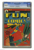 Golden Age (1938-1955):Superhero, More Fun Comics #61 (DC, 1940) CGC FN- 5.5 Off-white to white pages. DC's occult heroes dominate this issue: while Doctor Fa...