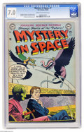 Golden Age (1938-1955):Science Fiction, Mystery in Space #7 (DC, 1952) CGC FN/VF 7.0 Cream to off-white pages. Gil Kane cover. Alex Toth, Carmine Infantino, Murphy ...