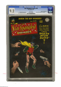 Star Spangled Comics #69 Mile High pedigree (DC, 1947) CGC NM- 9.2 White pages. This issue has the first appearance of t...