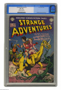 Golden Age (1938-1955):Science Fiction, Strange Adventures #12 (DC, 1951) CGC VF+ 8.5 Off-white to whitepages. Captain Comet, the star of this title, was drawn by ...