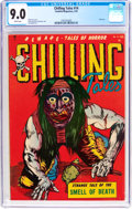 Golden Age (1938-1955):Horror, Chilling Tales #14 (Youthful Magazines, 1953) CGC VF/NM 9.0 Whitepages....