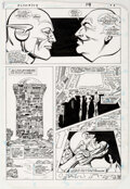 Carmine Infantino and Frank McLaughlin Flash #349 Story Page 15 Original Art (Ma Comic Art