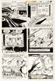 Carmine Infantino and Steve Mitchell Brave and the Bold #172 Story Page 9 Original Art (Marvel, 1981)