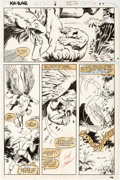 Brent Anderson and Carlos Garzon Ka-Zar the Savage #9 Story Page 13 Original Art Comic Art