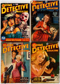 Pulps:Miscellaneous, Assorted Foreign Pulps Group of 6 (Various, 1944-51) Condition:Average GD.... (Total: 6 Items)