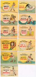 Silver Age (1956-1969):Miscellaneous, The Finer Points of Baseball Promotional Comics Group of 11 (International Harvester, 1960) Condition: Average VF.... (Total: 11 Items)