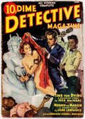 Pulps:Detective, Dime Detective Magazine - June 1937 (Popular) Condition: VG....