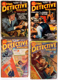 Pulps:Detective, Dime Detective Magazine Group of 7 (Popular, 1932-46) Condition:Average GD/VG.... (Total: 7 Items)