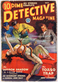 Pulps:Detective, Dime Detective Magazine - October 1932 (Popular) Condition: VG-....
