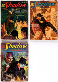 Pulps:Detective, The Shadow Group of 3 (Street & Smith, 1936) Condition: Average GD.... (Total: 3 Items)