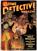 Pulps:Detective, Dime Detective Magazine - September 1935 (Popular) Condition:GD/VG....