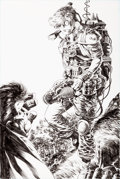 Original Comic Art:Splash Pages, Bernie Wrightson The Ghoul #2 Splash Page 9 Original Art(IDW, 2010)....