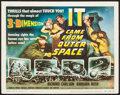 "Movie Posters:Science Fiction, It Came from Outer Space (Universal International, 1953). TitleLobby Card (11"" X 14"") 3-D Style. Science Fiction."