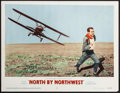 """Movie Posters:Hitchcock, North by Northwest (MGM, 1959). Lobby Card (11"""" X 14""""). Hitchcock....."""