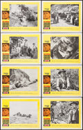 """Movie Posters:Western, Hombre (20th Century Fox, 1966). Lobby Card Set of 8 (11"""" X 14"""").Western.. ... (Total: 8 Items)"""