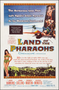 "Movie Posters:Drama, Land of the Pharaohs (Warner Brothers, 1955). One Sheet (27"" X41""). Drama.. ..."