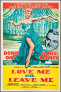 """Movie Posters:Drama, Love Me or Leave Me (MGM, 1955). One Sheet (27"""" X 41""""). Drama.. ..."""