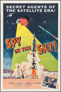 "Movie Posters:Thriller, Spy in the Sky! (Allied Artists, 1958). One Sheet (27"" X 41"").Thriller.. ..."