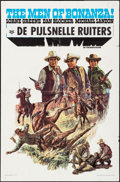 "Movie Posters:Western, Bonanza: Ride the Wind (NBC, 1968). International One Sheet (27"" X41""). Western.. ..."
