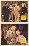 "Movie Posters:Mystery, Castle in the Desert (20th Century Fox, 1942). Lobby Cards (2) (11""X 14""). Mystery.. ... (Total: 2 Items)"