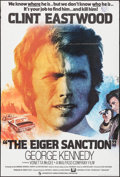 "Movie Posters:Action, The Eiger Sanction (CIC, 1975). British One Sheet (27"" X 40"") JeanMascii Artwork. Action.. ..."