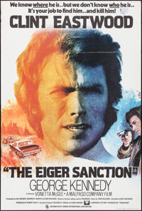 "The Eiger Sanction (Universal, 1975). Folded, Very Fine-. British One Sheet (27"" X 40""). John Alvin Artwork. A..."