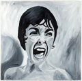 Psycho Janet Leigh Painting Original Art (undated) Comic Art