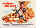 "Movie Posters:Western, The Sons of Katie Elder (Paramount, 1965). Half Sheet (22"" X 28"").Western.. ..."
