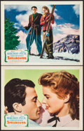 """Movie Posters:Hitchcock, Spellbound (United Artists, 1945). Lobby Cards (2) (11"""" X 14""""). Hitchcock.. ... (Total: 2 Items)"""