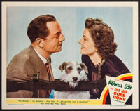 "The Thin Man Goes Home (MGM, 1945). Lobby Card (11"" X 14""). Mystery"