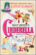 """Movie Posters:Animation, Cinderella & Other Lot (Buena Vista, R-1973). One Sheet (27"""" X 41"""") & Lobby Cards (7) (11"""" X 14""""). Animation.. ... (Total: 8 Items)"""